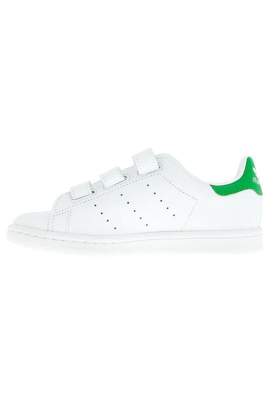 adidas Originals - Дитячі черевики Stan Smith CF C  Халяви: Синтетичний матеріал, Натуральна шкіра Внутрішня частина: Синтетичний матеріал, Текстильний матеріал Підошва: Синтетичний матеріал