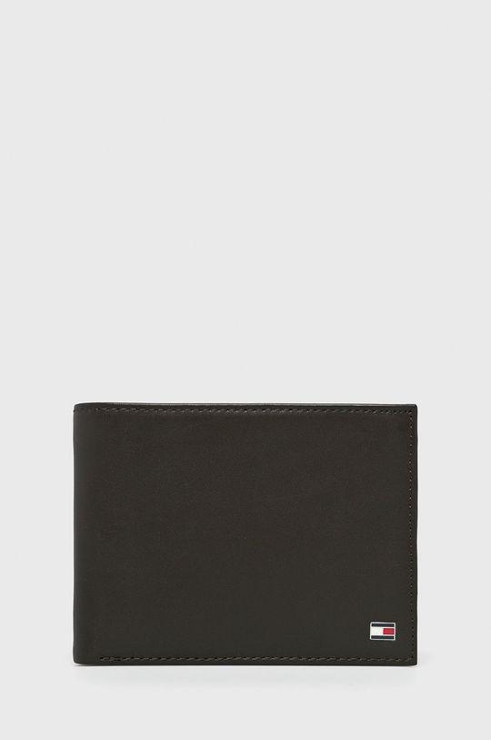 hnedá Tommy Hilfiger - Kožená peňaženka Pánsky