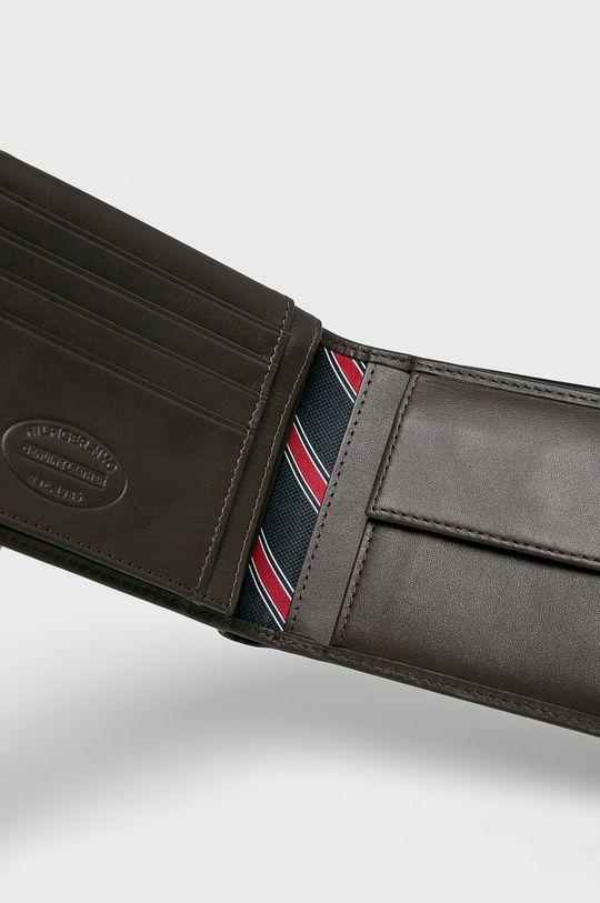 Tommy Hilfiger - Kožená peňaženka hnedá