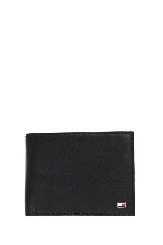 černá Tommy Hilfiger - Kožená peněženka Pánský