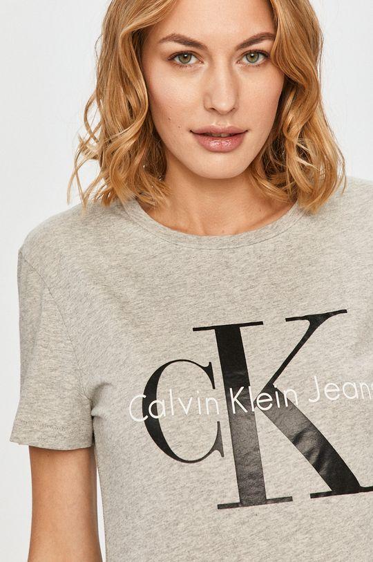світло-сірий Calvin Klein Jeans - Футболка