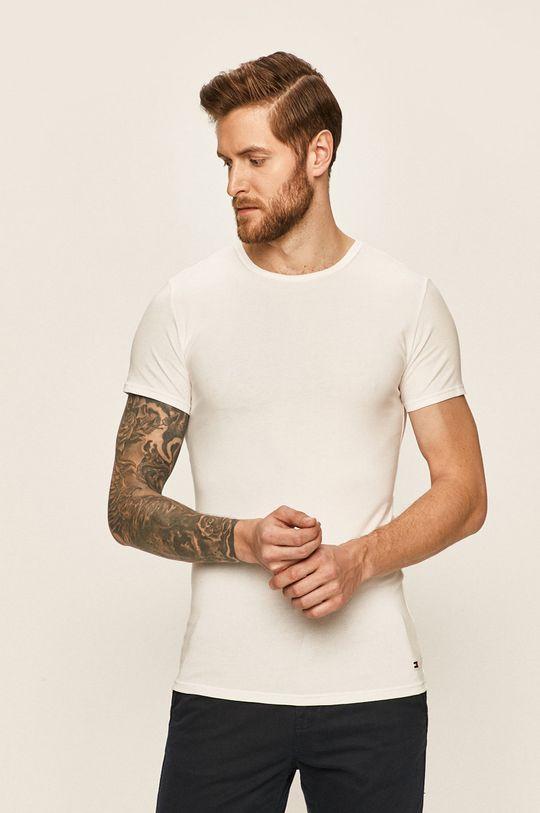 biały Tommy Hilfiger - T-shirt (3-pack) Męski