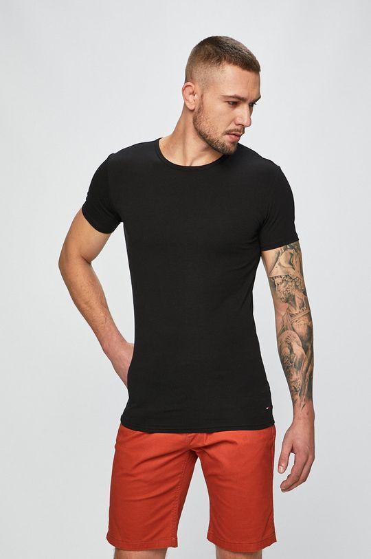 Tommy Hilfiger - Pánske tričko (3-pak) svetlosivá