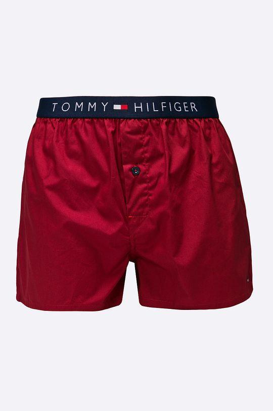 kasztanowy Tommy Hilfiger - Bokserki Woven Cotton Męski