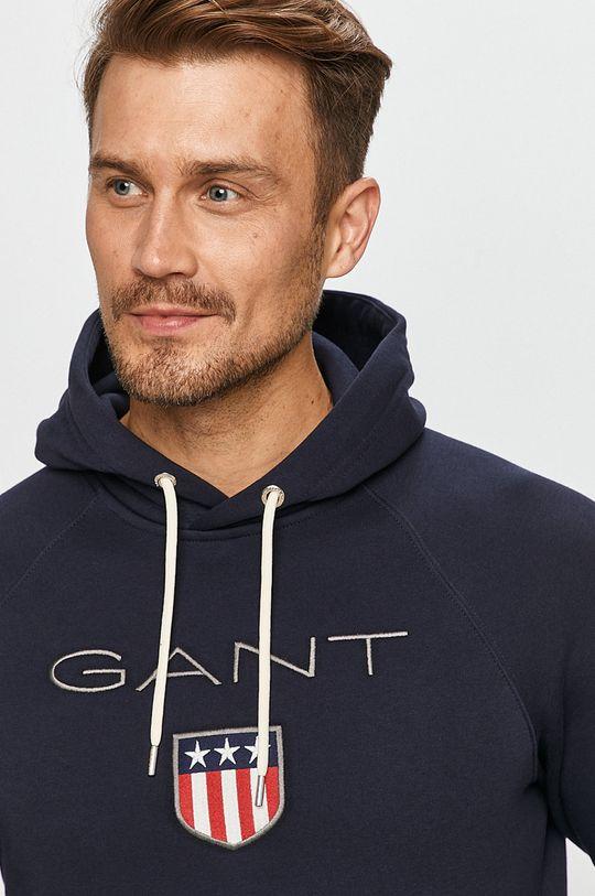 niebieski Gant - Bluza