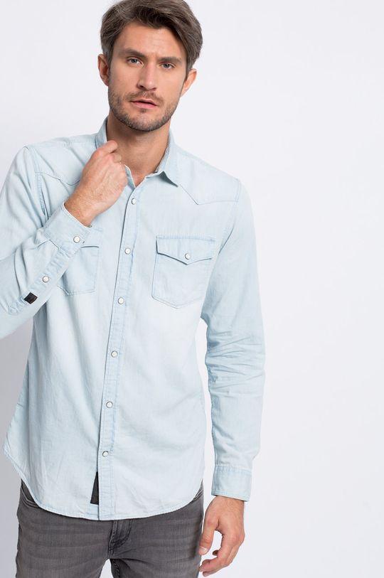 svetlomodrá Produkt by Jack & Jones - Košeľa Western Pánsky