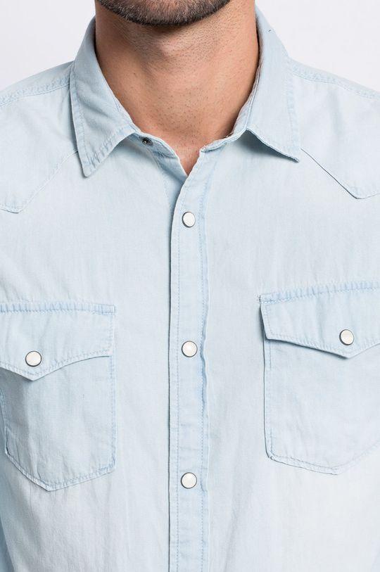 Produkt by Jack & Jones - Košeľa Western svetlomodrá