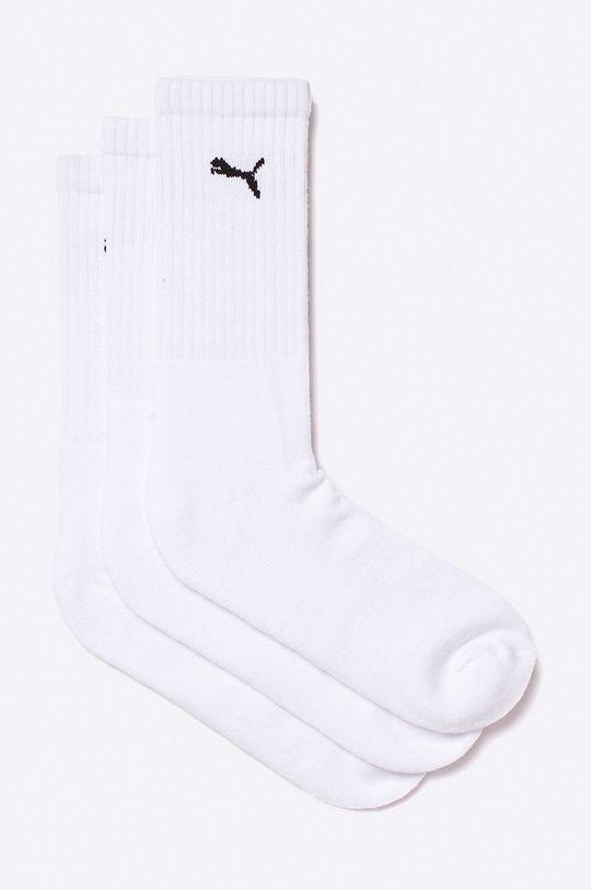bílá Puma - Ponožky (3-pack) Pánský