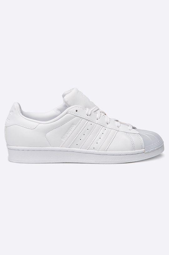 bílá adidas Originals - Boty Superstar Glossy Dámský