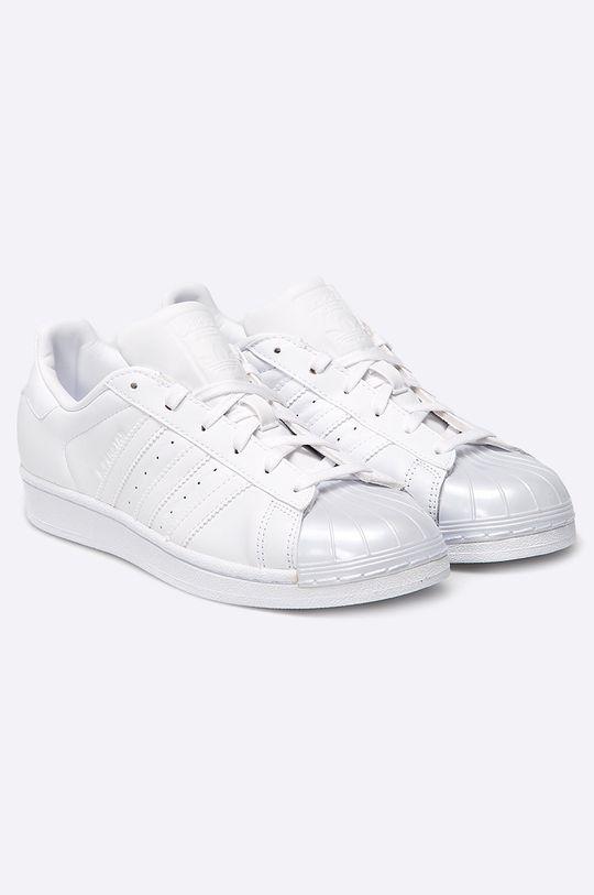 adidas Originals - Boty Superstar Glossy bílá