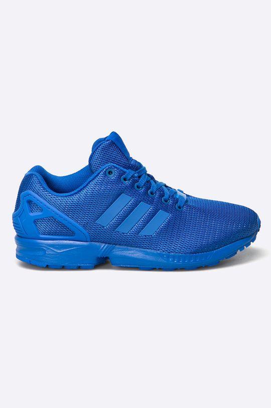 modrá adidas Originals - Topánky ZX Flux Pánsky
