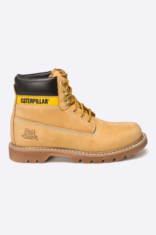 zlatohnědá Caterpillar - Kotníkové boty Colorado Pánský