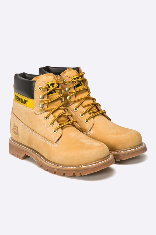 Caterpillar - Kotníkové boty Colorado zlatohnědá
