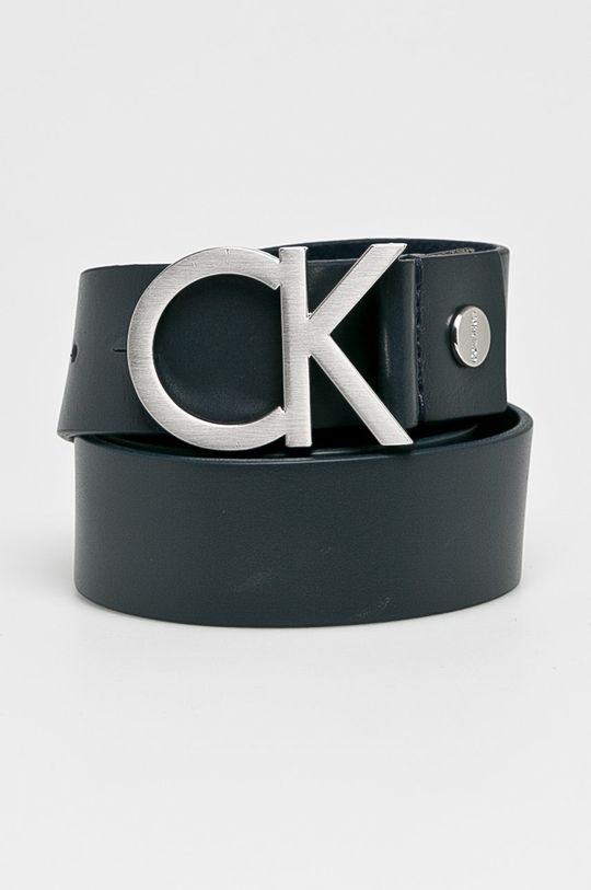tmavomodrá Calvin Klein Jeans - Opasok Pánsky