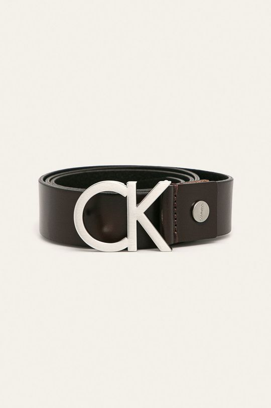 hnědá Calvin Klein Jeans - Pásek Pánský