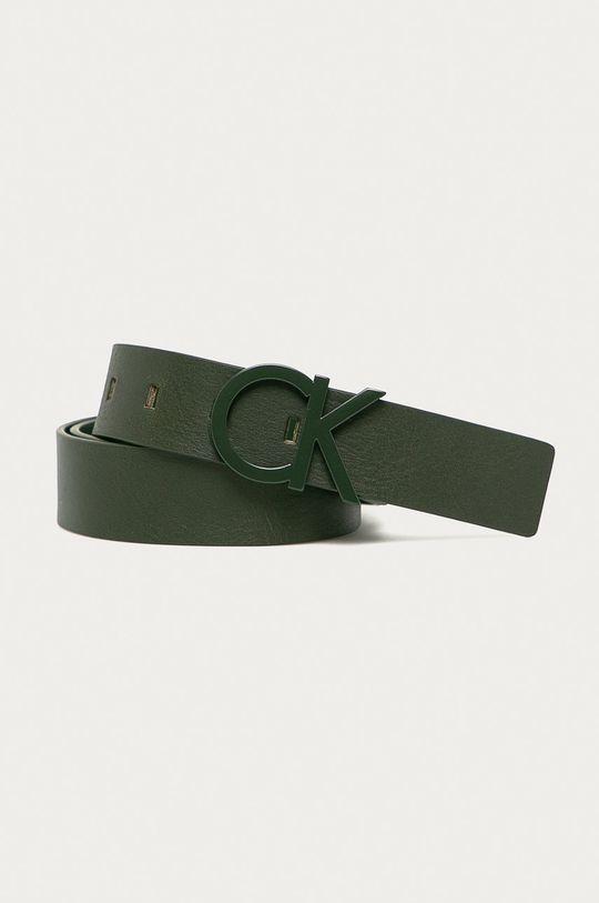 verde metalizat Calvin Klein Jeans - Curea K50K502119 De bărbați