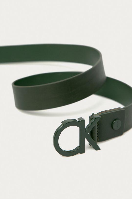 Calvin Klein Jeans - Curea K50K502119 verde metalizat