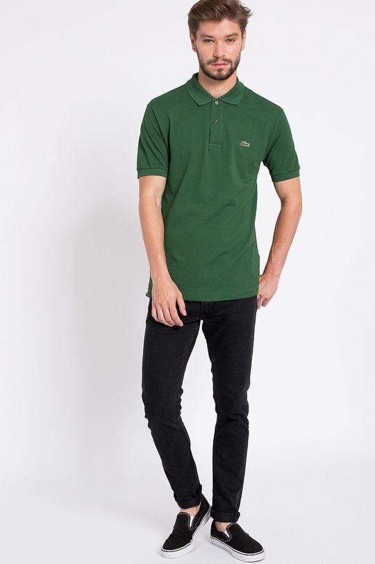 Lacoste - Tricou Polo verde