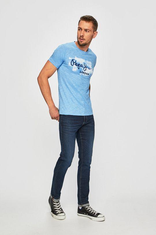 Pepe Jeans - Tričko Golders světle modrá