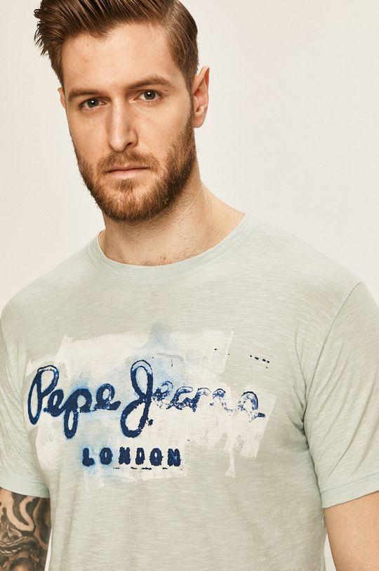 světle modrá Pepe Jeans - Tričko Golders