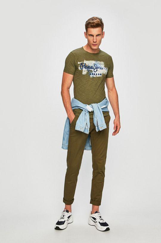 Pepe Jeans - Tričko Golders zelená