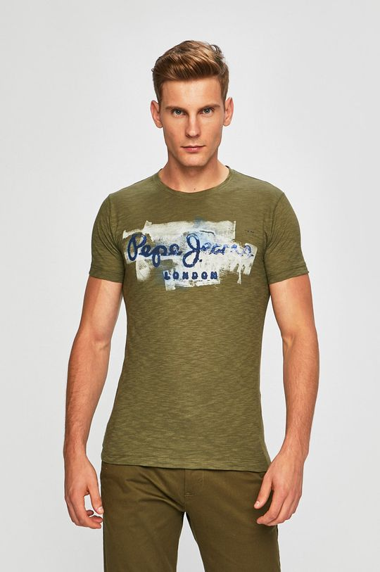 zelená Pepe Jeans - Tričko Golders