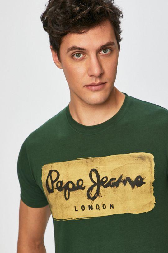 zelená Pepe Jeans - Pánske tričko Charing