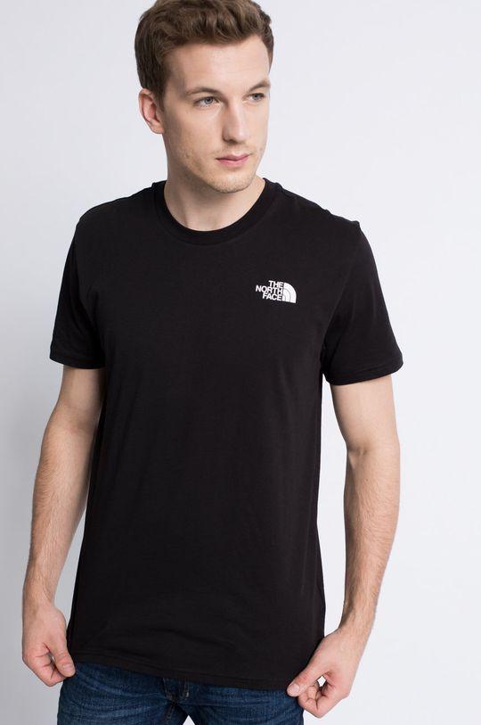 czarny The North Face - T-shirt Męski