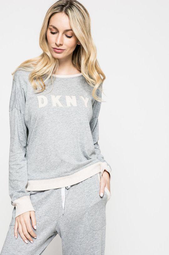 Dkny - Piżama jasny szary