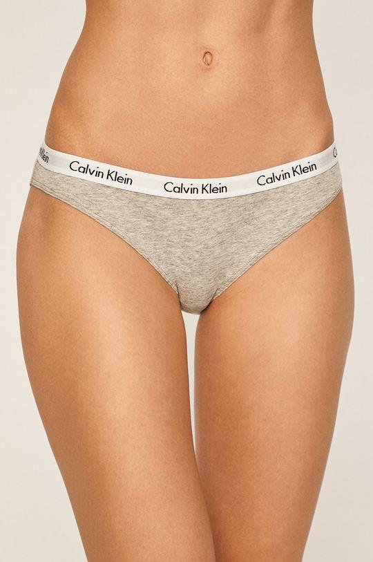 jasny szary Calvin Klein Underwear - Figi (3 pack) Damski