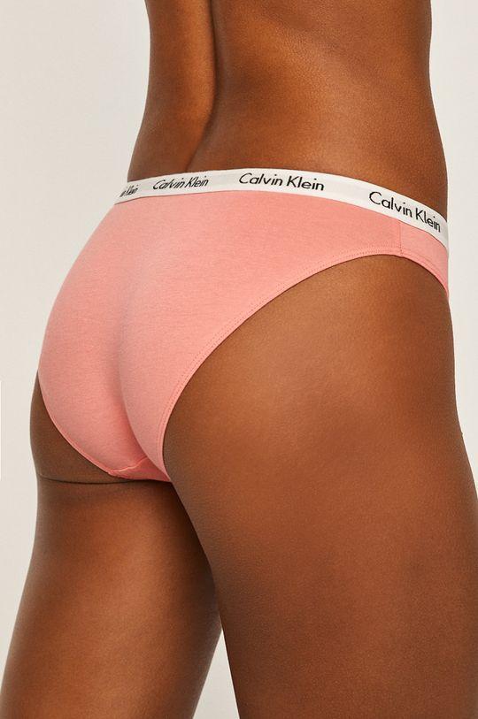 ružovofialová Calvin Klein Underwear - Nohavičky (3-pak)