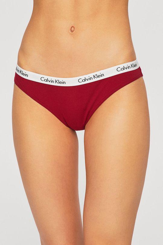 Calvin Klein Underwear - Kalhotky (3 pack) zelená
