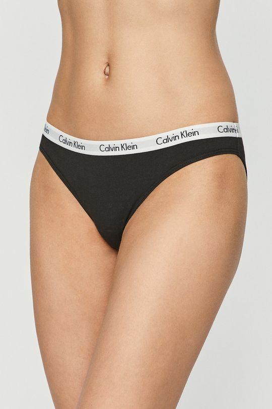 černá Calvin Klein Underwear - Kalhotky (3-pack) Dámský