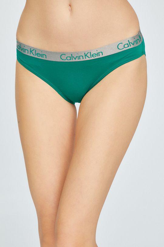 Calvin Klein Underwear - Chiloti (3-pack)  Materialul de baza: 95% Bumbac, 5% Elastan Introduceti: 100% Bumbac Banda elastica: 9% Elastan, 62% Poliamida, 29% Poliester