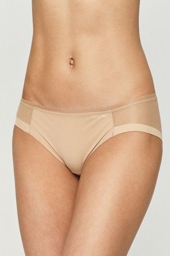 béžová Calvin Klein Underwear - Nohavičky Dámsky