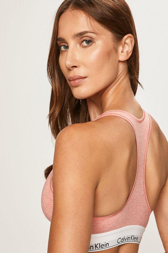 Calvin Klein Underwear - Sportovní podprsenka korálová