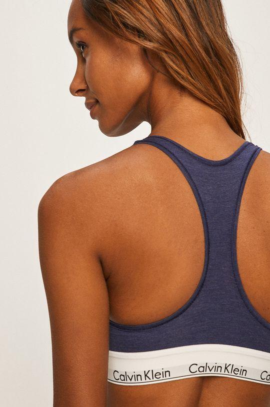 Calvin Klein Underwear - Sportovní podprsenka námořnická modř