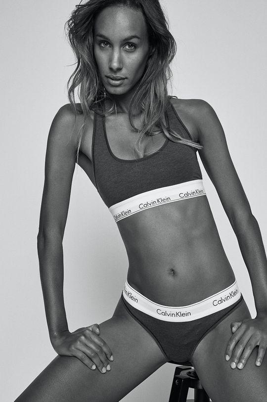 Calvin Klein Underwear - Športová podprsenka  53% Bavlna, 12% Elastan, 35% Modal Základná látka: 53% Bavlna, 12% Elastan, 35% Modal Úprava : 8% Elastan, 69% Nylón, 23% Polyester