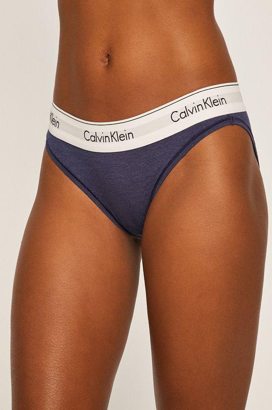 námořnická modř Calvin Klein Underwear - tanga Dámský