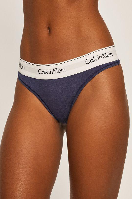 tmavomodrá Calvin Klein Underwear - Nohavičky Dámsky