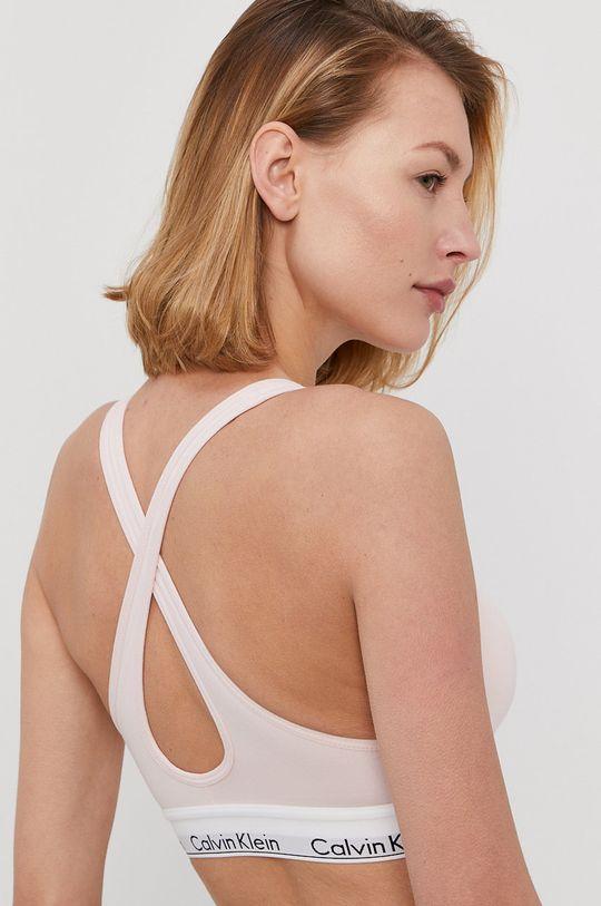 Calvin Klein Underwear - Biustonosz sportowy różowy