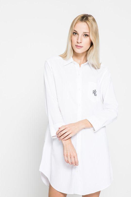 biela Lauren Ralph Lauren - Nočná košeľa Dámsky