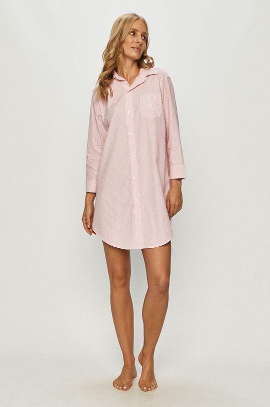 Lauren Ralph Lauren - Camasa de noapte roz