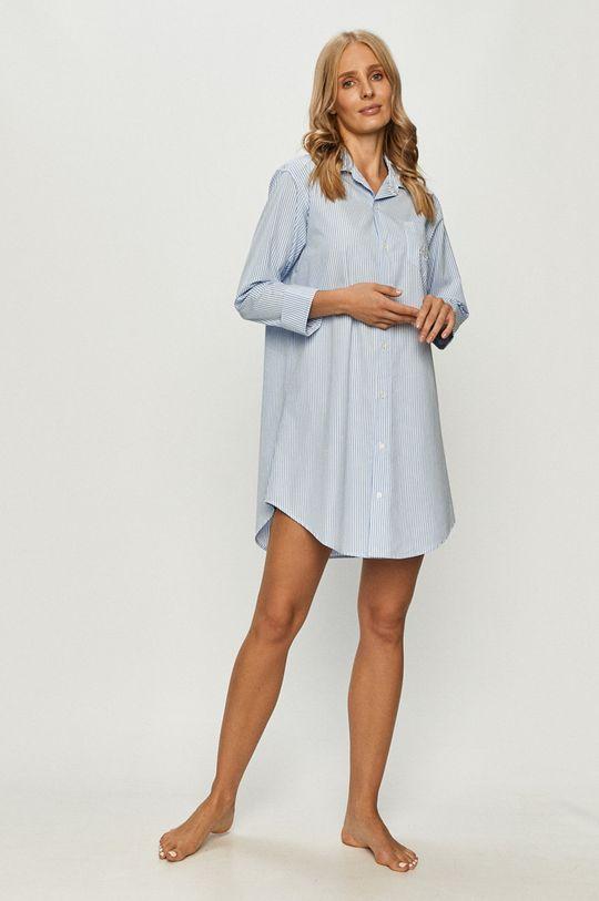 Lauren Ralph Lauren - Camasa de noapte albastru deschis