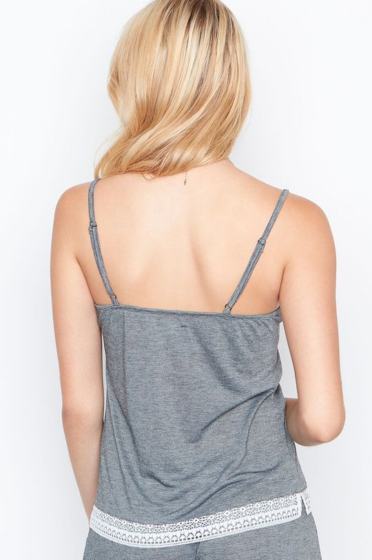 Etam - Maiou de pijama Warm Day Materialul de baza: 50% Poliester , 50% Viscoza Finisaj: 12% Elastan, 88% Poliamida