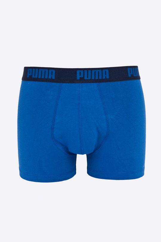 námořnická modř Puma - Boxerky Puma Basic Boxer 2P true blue (2-pack) Pánský