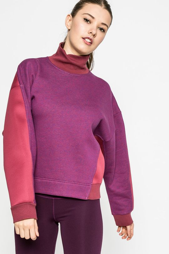 пурпурно adidas by Stella McCartney - Суичър Жіночий
