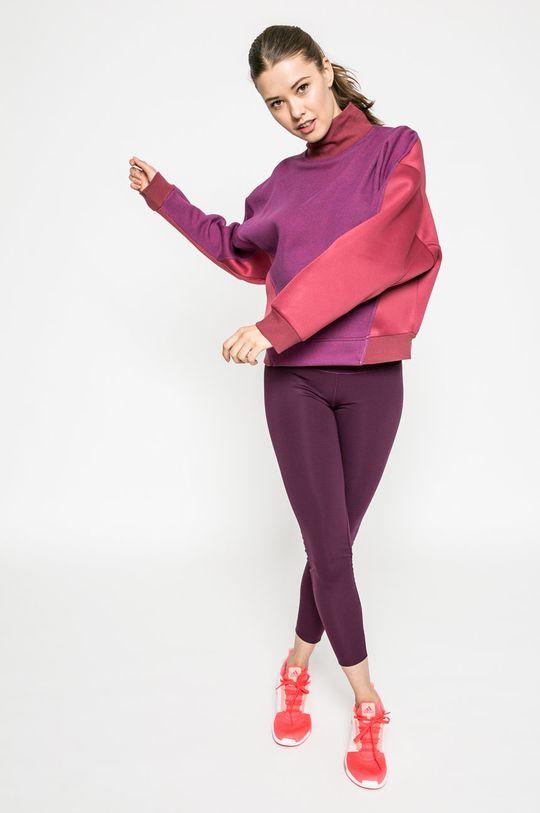 adidas by Stella McCartney - Суичър пурпурно