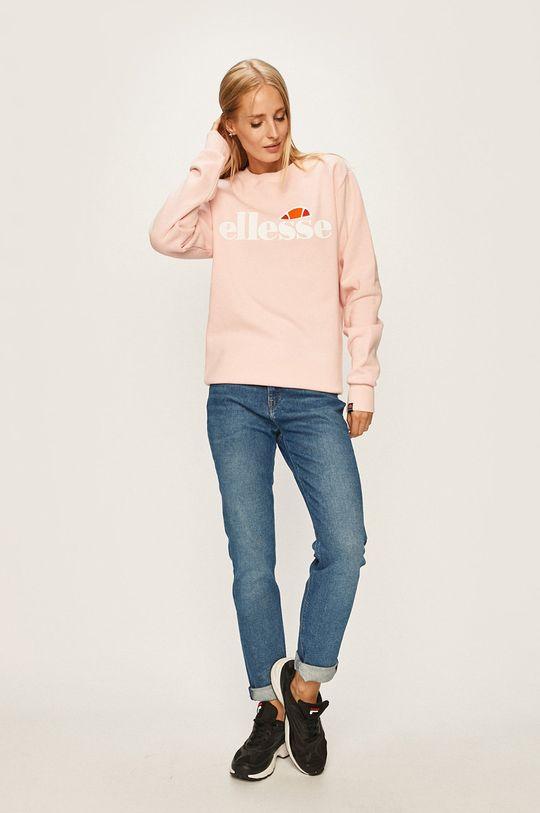 Ellesse - Bluza ostry różowy