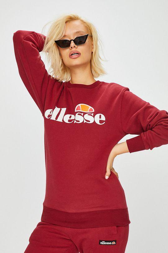 Ellesse - Bluza kasztanowy